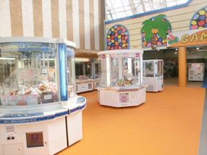 東京サマーランド ドーム内 「ゲームパラダイス」